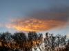 Wolkenspiele bei Sonnenaufgang