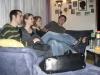 Gäste auf der Couch