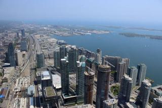 Aussicht aus dem CN Tower