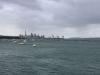 Auckland im Regen