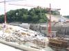 Baustelle neues Kraftwerk Rheinfelden